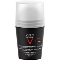 Vichy Homme antiperspirant deo roll-on 72T, 50 ml.